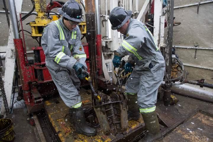 Trinidad Drilling crew