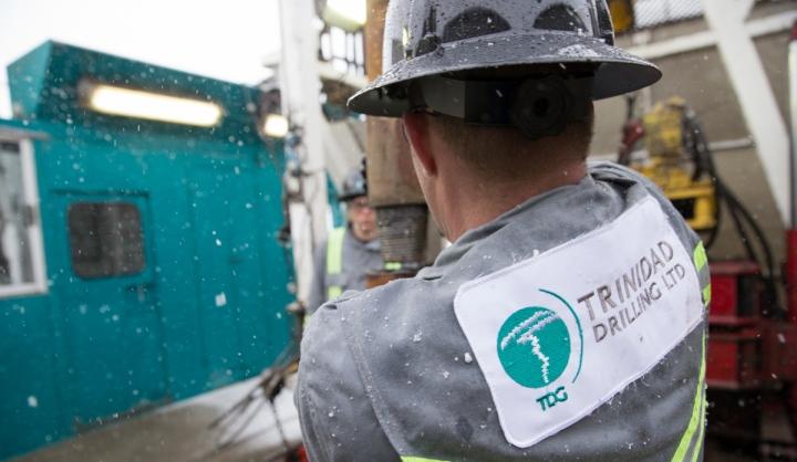 Trinidad Drilling rig hand