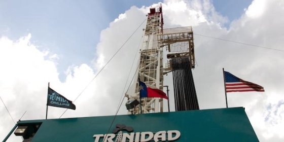 Trinidad Drilling rig in Texas