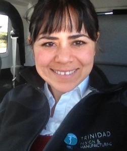 Erika Rocha, Trinidad Drilling's Canadian HSE Compliance Manager