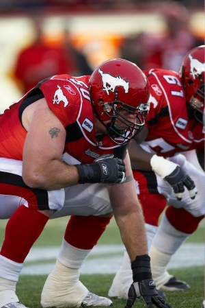 Jay McNeil, Trinidad's Vice President of Sales and Marketing, played 14 seasons in the CFL. (Photo courtesy of the Calgary Stampeders.)