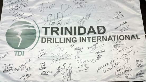 Trinidad Drilling Rig 126 in Saudi Arabia