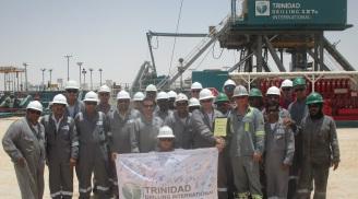 Trinidad Drilling safety milestone Rig 127