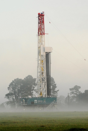Trinidad Drilling's Rig 124 in the U.S.
