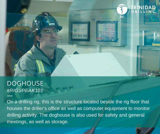 Rig word of the day: doghouse