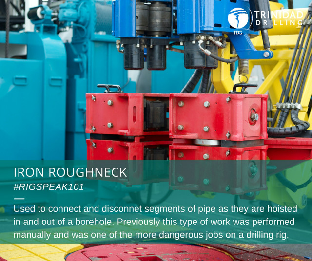 Rig word of the day: iron roughneck