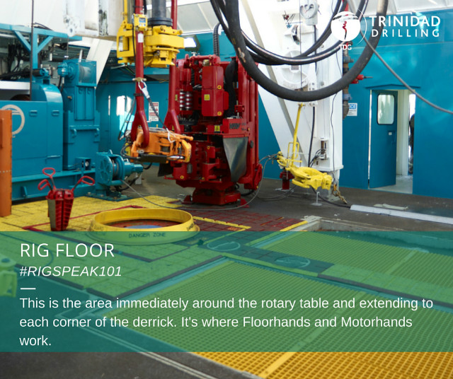 Rig word of the day: rig floor