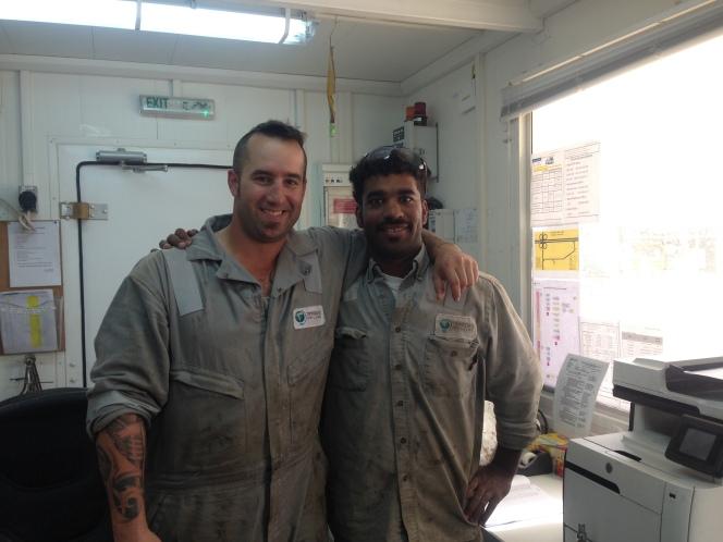 Aaron Zurfluh and Haider Almoosa