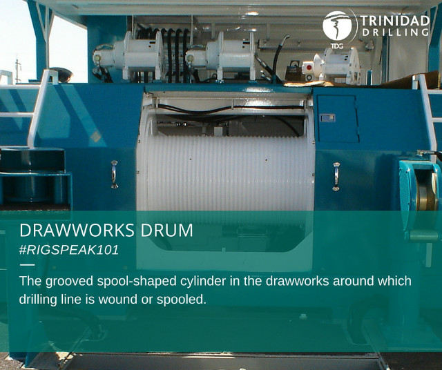 Rig word of the day: drawworks drum