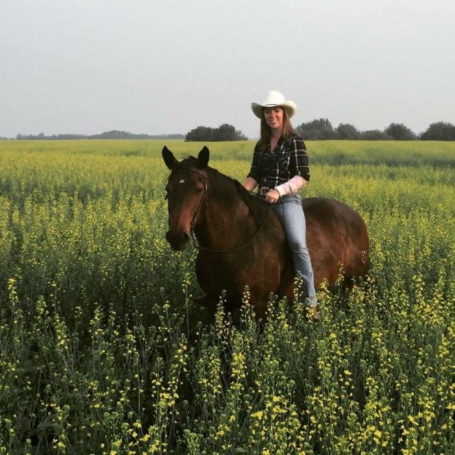 Erin on horse