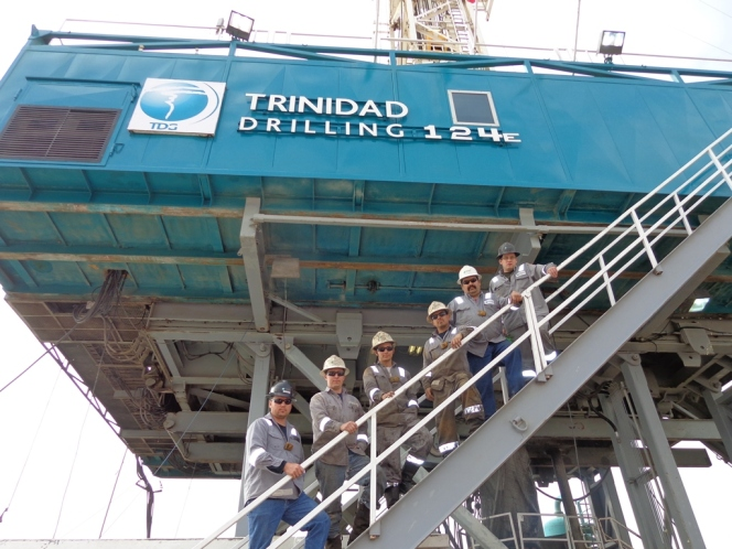 Trinidad Drilling Rig 124 celebrates 6 years incident free