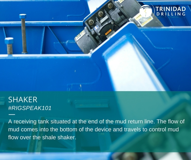 Trinidad Drilling RigSpeak101 Shaker