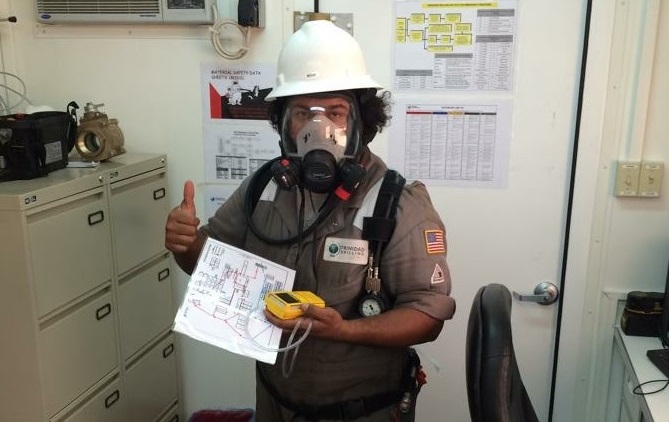 Maudiel Alegria Trinidad Drilling International Driller