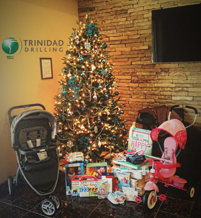 Trinidad Drilling DePelchin Children's Centre Donations Houston, Texas