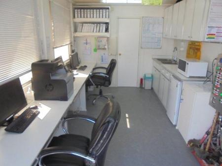 Trinidad Drilling Rig Office