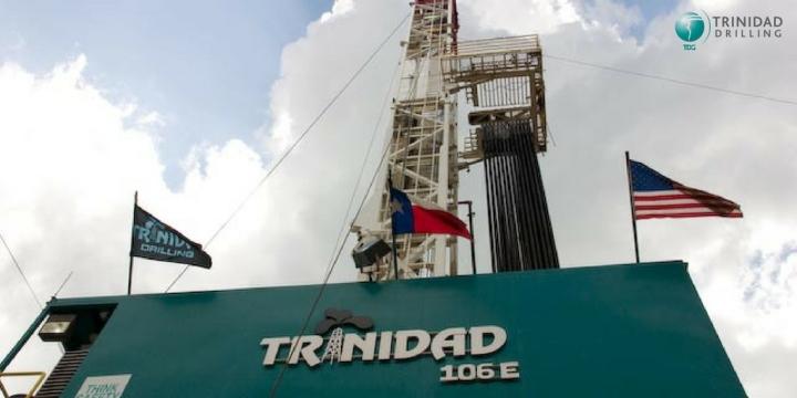 Trinidad Drilling Drilling Rig 106