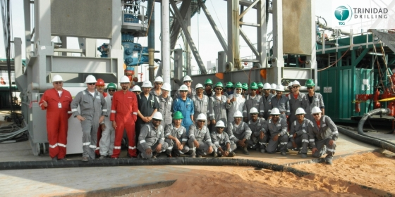Trinidad Drilling International Rig Crew Saudi Arabia