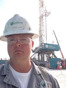 Trinidad Drilling International Rig Manager Wayne Adam
