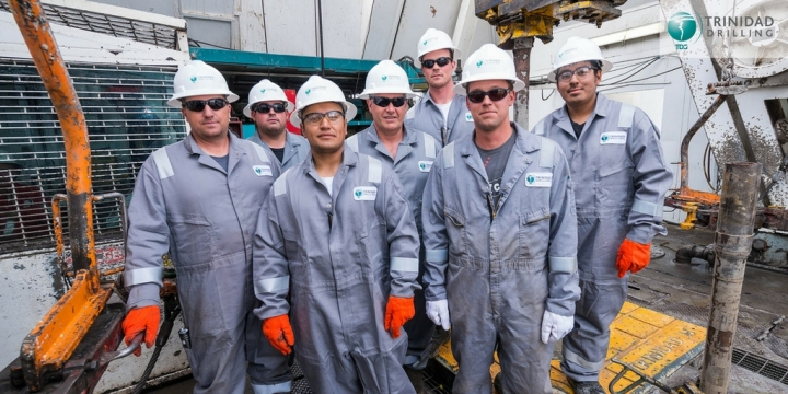 Trinidad Drilling well-trained rig crews