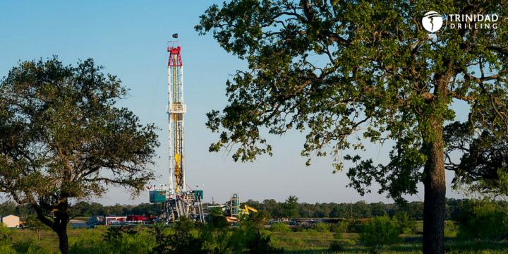 Trinidad Drilling Rig 121