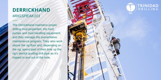 Drilling rig Derrickhand