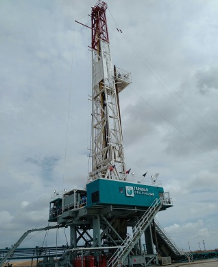 Trinidad Rig 142 (1,500 HP Candrill Triple in our US fleet)