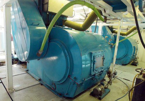 Trinidad Drilling Rig 57 mud pumps