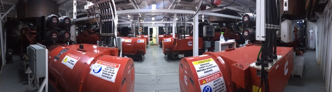 Trinidad Drilling Rig 58 generators