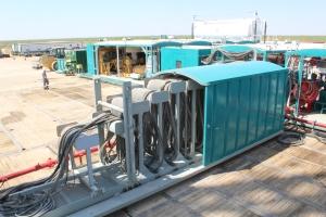 Trinidad Drilling Rig 142 Festoon System