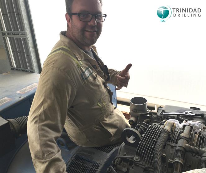 Jordan McKinney Trinidad Drilling Maintenance Manager