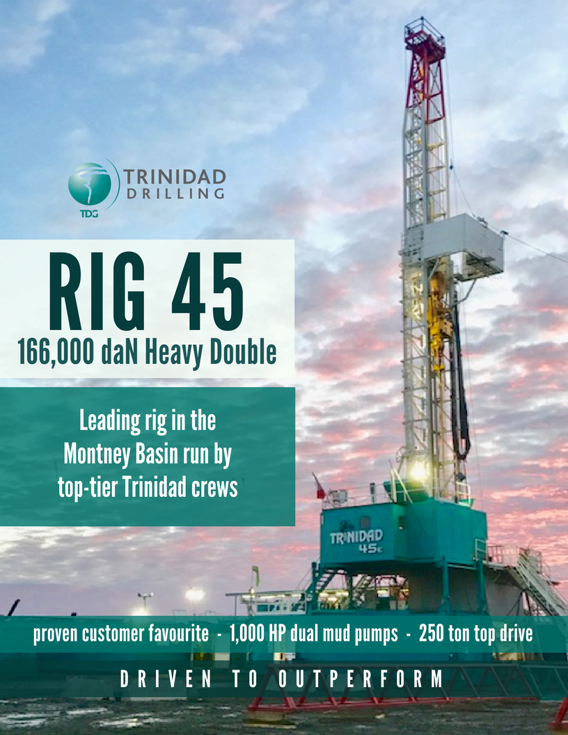 Rig Profile Trinidad Drilling Rig 45 Trinidad Drilling