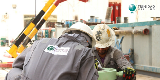 Maintaining Trinidad's rig fleet in Saudi Arabia