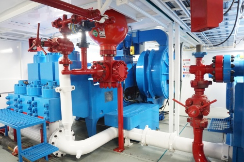 1,600 HP Mud Pumps with Direct-Drive Motors
