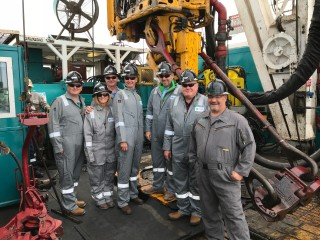 October 23, 2017: Great shot of Trinidad's Board of Directors, CEO and COO, aboard Rig 136 in Midland, Texas two weeks ago! Learn more about Trinidad's BOD here: https://www.trinidaddrilling.com/about/board-of-directors.