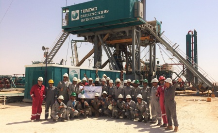 Trinidad Drilling International Saudi Arabia