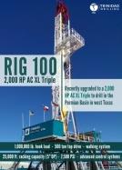 Trinidad Drilling Rig 100