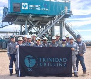 Trinidad Drilling Rig 123