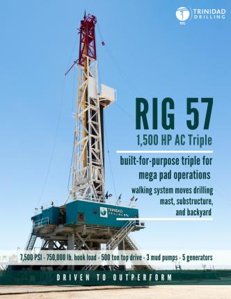 Trinidad Drilling Rig 57