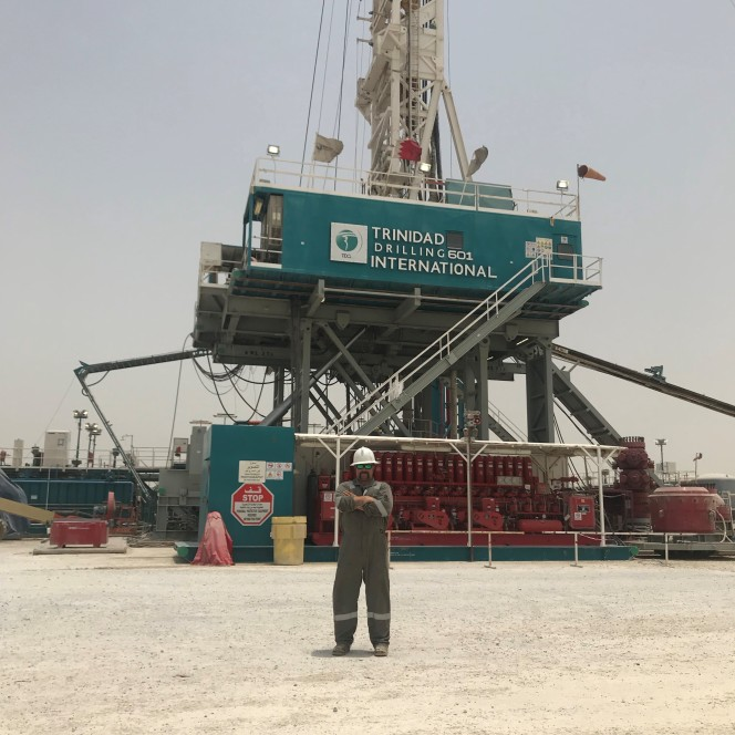 Trinidad Drilling Rig 601